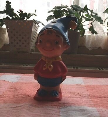 Vintage Noddy Toothbrush Holder By Combex
