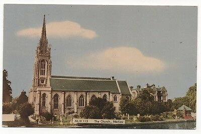 THE CHURCH, MARLOW, BUCKINGHAMSHIRE - Real Photo Vintage Postcard