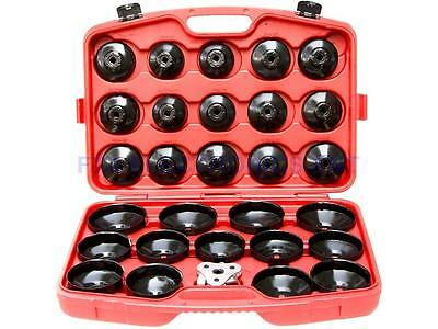 30pcs Oil Filter Cap Wrench Cup Socket Tool Set Mercedes BMW VW Audi Volvo Ford