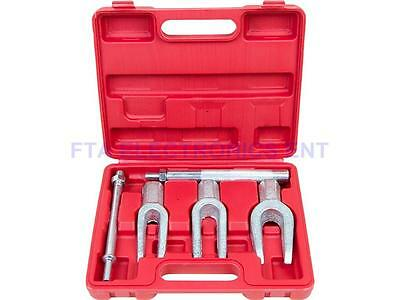 5pc Tie Rod Ball Joint Pitman Arm Tool Kit Joint Remover Separator Pickle Fork