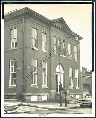 BS PHOTO bha-176 Baltimore Police Dept Eastern Station 1965
