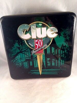 Clue 50Th Anniversary Edition Game Board And Tin