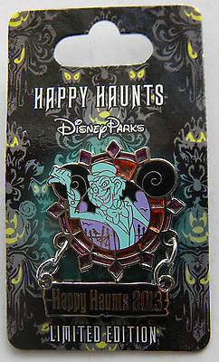 Disneyland Pin - Happy Haunts 2013 - Hitchhiking Ghost Ezra - Haunted Mansion