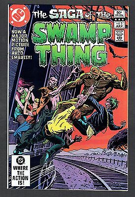 Saga of the Swamp Thing #3 DC Comics Bronze Age 1982 NM- Tom Yeates Cover Movie