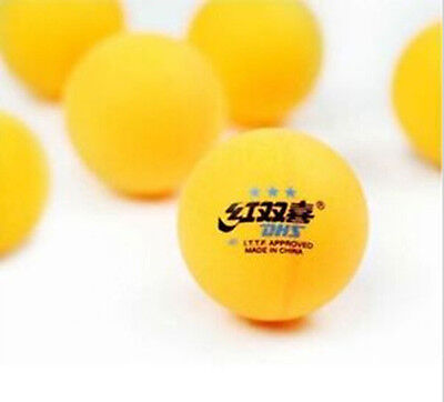 1Pc Double Happiness 40MM Olympic Table Tennis Yellow  Ping Pong Balls