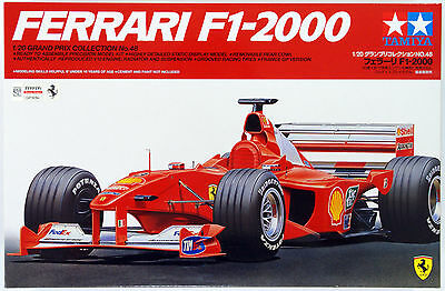 Tamiya 20048 Ferrari F1-2000 1/20 scale kit
