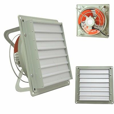 Heavy Duty Industrial Commercial Metal Axial Extractor Fan Ventilation
