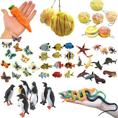 Wildlife Farm Jungle Animals Insect Display Plastic Model for Kids Children Toys