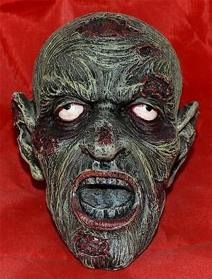 Nemesis Now Gothic Horror 12.5cm Resin UNDEAD ZOMBIFIED HEAD Zombie Dead Skull