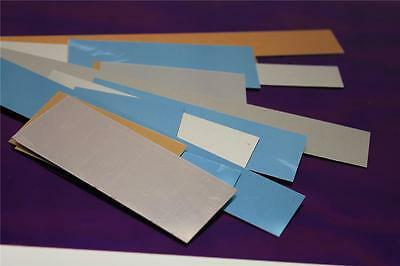 Sheets of aluminium metal offcuts suitable for crafting