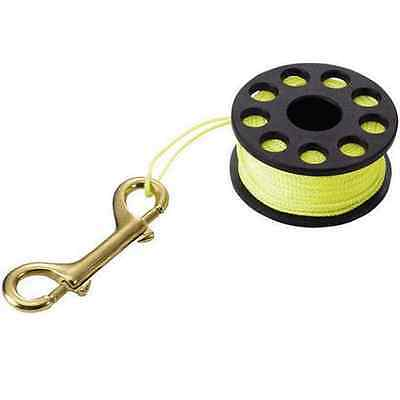 Reel 50M Finger Yellow Scuba Diver Diving Compact Spool