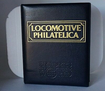Locomotive Philatelica album (GWR 150 YEARS Anniversary) Complete