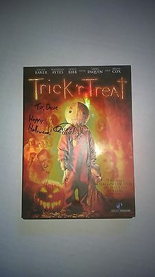 Trick r Treat Autographed DVD. Signed by 3 Quinn Lord, Michael Dougherty +more!