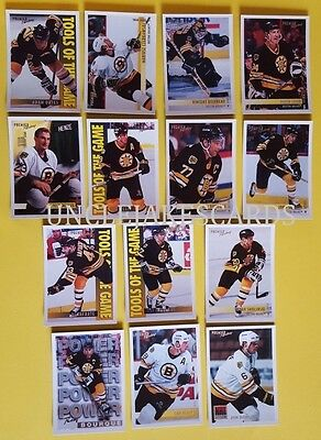 94-95 OPC PREMIER BOSTON BRUINS Select from LIST HOCKEY CARDS O-PEE-CHEE