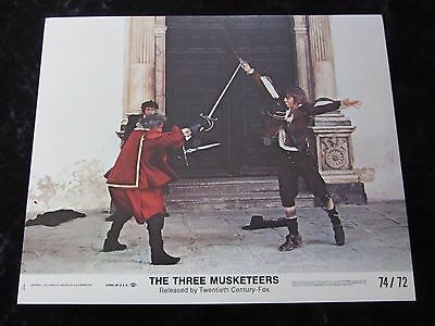 The Three Musketeers original lobby card # 4 - 8 x 10 inches (1974)