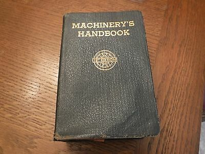 Machinery's Handbook Toolbox edition w/thumb index 12th edition