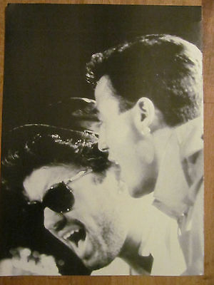 Wham! George Michael, Full Page Vintage Pinup, Wham