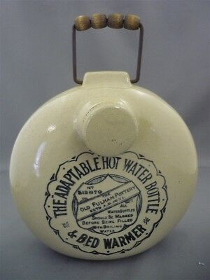 The Old Fulham Pottery Adaptable Hot Water Bottle & Bed Warmer Stoneware Crock