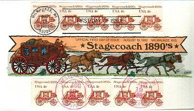 COLLINS HAND PAINTED 1898A Stagecoach PNC#1