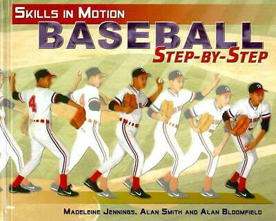 Baseball Step-By-Step by Brian Burns (English) Hardcover Book Free Shipping!