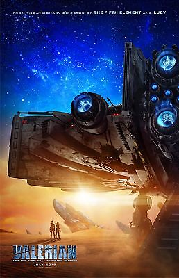 """Valerian and the City Of A Thousand Planets movie poster -  11"""" x 17"""" inches"""