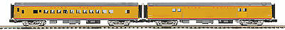 MTH 20-69261 O Union Pacific 70' ABS Baggage/Coach Passenger Set (Smooth) 2-Car