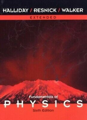 Fundamentals of Physics by Walker, Jearl Hardback Book The Cheap Fast Free Post