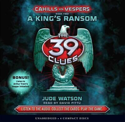 A King's Ransom by Jude Watson (English) Compact Disc Book Free Shipping!