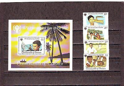 Dominica - Sg655-Ms659 Mnh 1979 International Year Of The Child