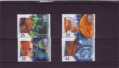 Great Britain - Sg1839-1842 Mnh 1994 Medical Discoveries