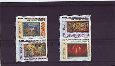 PHILIPPINES - SG2795-2798 MNH 1995 STAMP COLLECTING MONTH 1st ISSUE