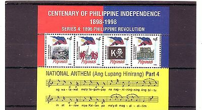 PHILIPPINES - SGMS3106 MNH 1998 CENTENARY OF INDEPENDENCE 13th ISSUE