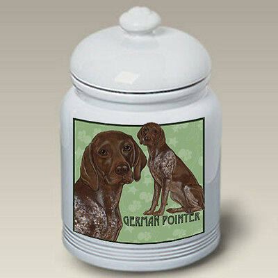Ceramic Treat Cookie Jar - German Shorthaired Pointer (PS) 52049