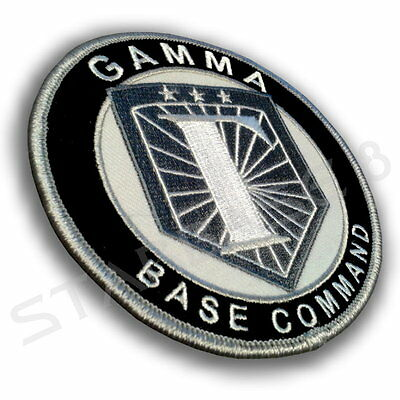 Gamma Base Uniform Aufnäher / Patch - Stargate Sg1 / Atlantis / Universe