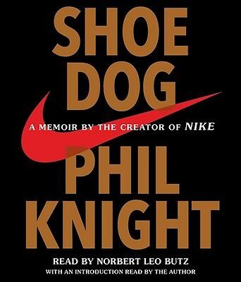 NEW! Shoe Dog by Phil Knight [Audiobook] [Unabridged] The Creator of NIKE