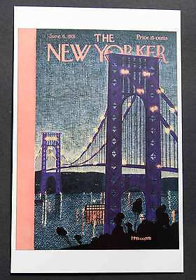 POSTCARDS FROM THE NEW YORKER - June 6, 1931 Cover Postcard - NEW