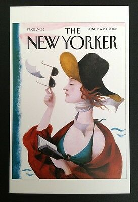 POSTCARDS FROM THE NEW YORKER - June 13 & 20, 2005 Cover Postcard - NEW