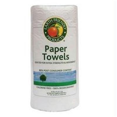 Earth Friendly Products Earth Friendly White Jumbo 2 Ply Paper Towels -24x90ct
