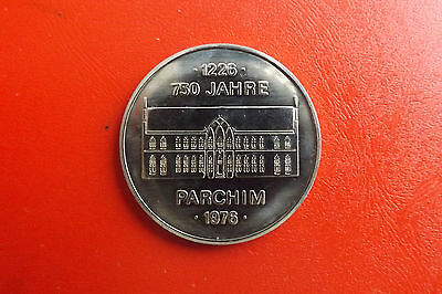 *DDR Medaille 1976 ca.40mm * 750 Jahre Parchim