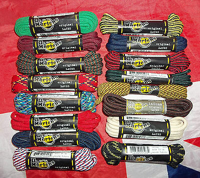 Original Dr Doc Martens Strong Replacement Laces*Official Shoe Boots*One Pair