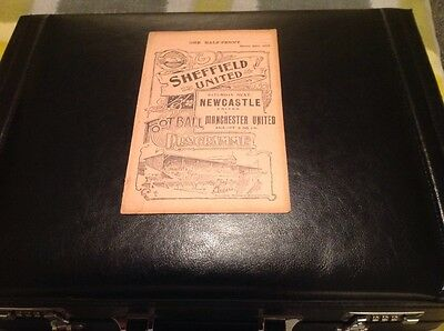Sheffield United V Grimsby Town Reserves 1908/1909 Rare Free Post!