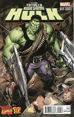Totally Awesome Hulk #1 (NM)`16 Pak/ Cho  (VARIANT)