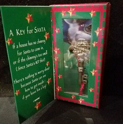 """A KEY FOR SANTA"" by GANZ - New in Box"