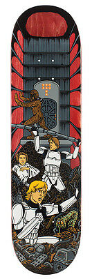 STAR WARS SANTA CRUZ Skateboard Deck TRASH COMPACTOR 8.375'