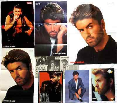 George Michael Lot Fr. Clippings & Posters Quebec