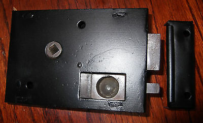 Privacy Lock With Tin Keep