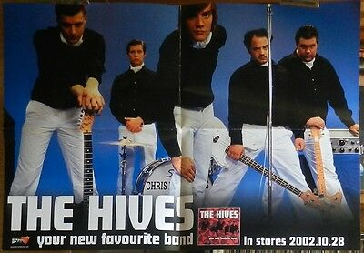 THE HIVES Your new favourite band Euro Promo Poster 2003