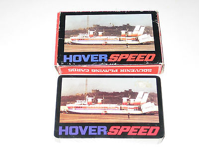 Complete Sealed Pack HOVERSPEED HOVERCRAFT Playing Cards