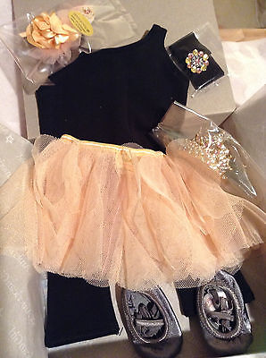 NEW~ISABELLE'S PERFORMANCE SET~AMERICAN GIRL DOLL~Ballerina Outfit/Tiara~In Box