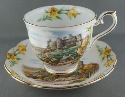 Royal Albert Men of Harlech Cup & Saucer Traditional British Songs